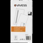 Vivess Briefumschläge DL mit Fenster 50 Stück