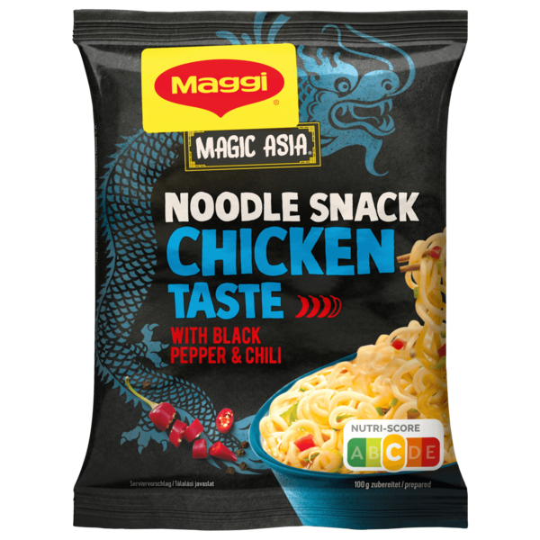 Maggi Magic Asia Instant Nudel Snack Huhn 62g