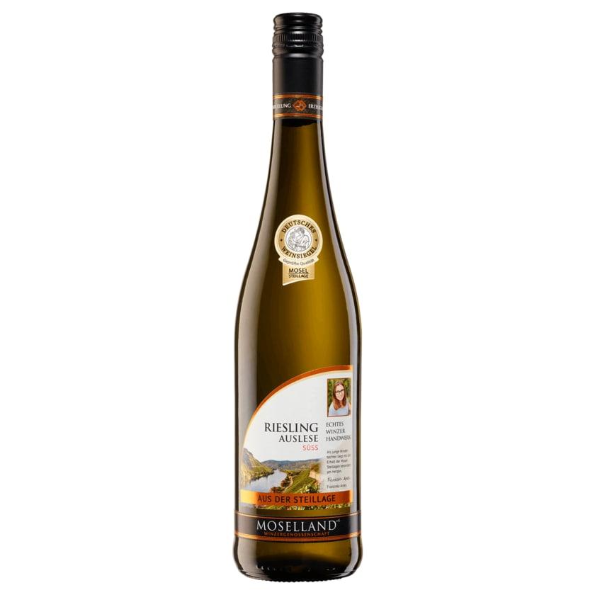 Moselland Weißwein Riesling Steillage Auslese 0,75l