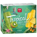 REWE Beste Wahl Tropical Fruit Pops 6 Stück