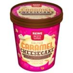 REWE Beste Wahl Salted Caramel Cheesecake Eiscreme 500ml