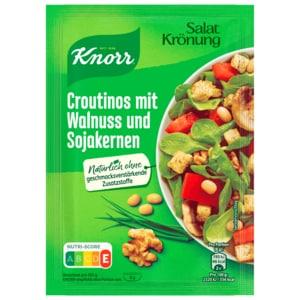 Knorr Salatkrönung Croutinos mit Walnuss & Sojakernen 25g