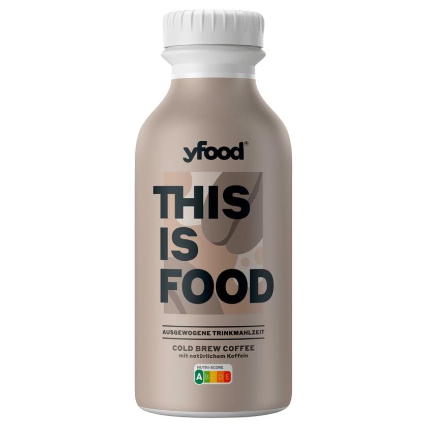 YFood Trinkmahlzeit Cold Brew Coffee 500ml