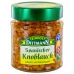 Feinkost Dittmann Spanischer Knoblauch gehackt, mit Chili in Rapsöl vegan 130g