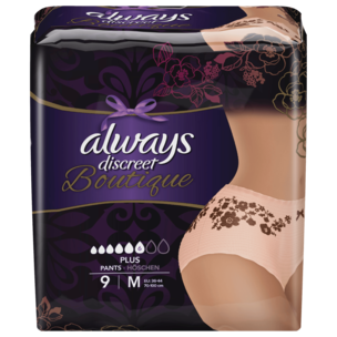 Always Discreet Boutique Pants Plus Größe M 9 Stück