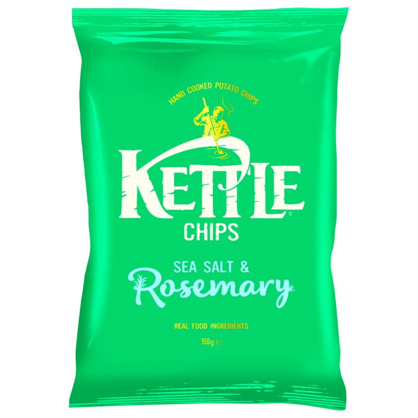 Kettle Chips Sea Salt & Rosemary 150g