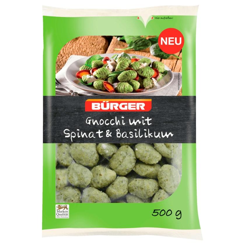 Bürger Gnocchi mit Spinat & Basilikum 500g