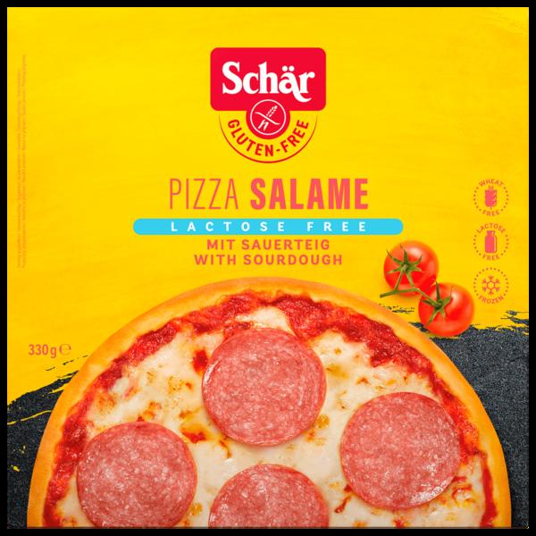 Schär Pizza Salami laktosefrei & glutenfrei 330g