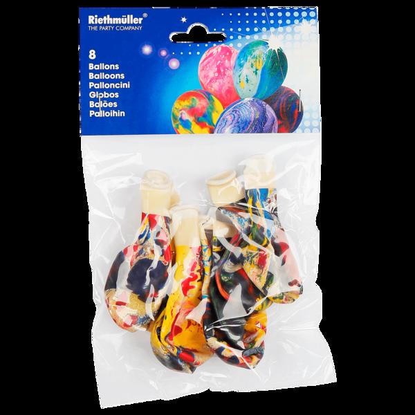 Riethmüller Luftballons multicolor 8 Stück