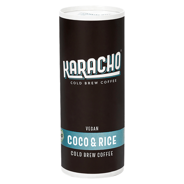 Karacho Cold Brew Coffee Vegan Coco & Rice 235ml