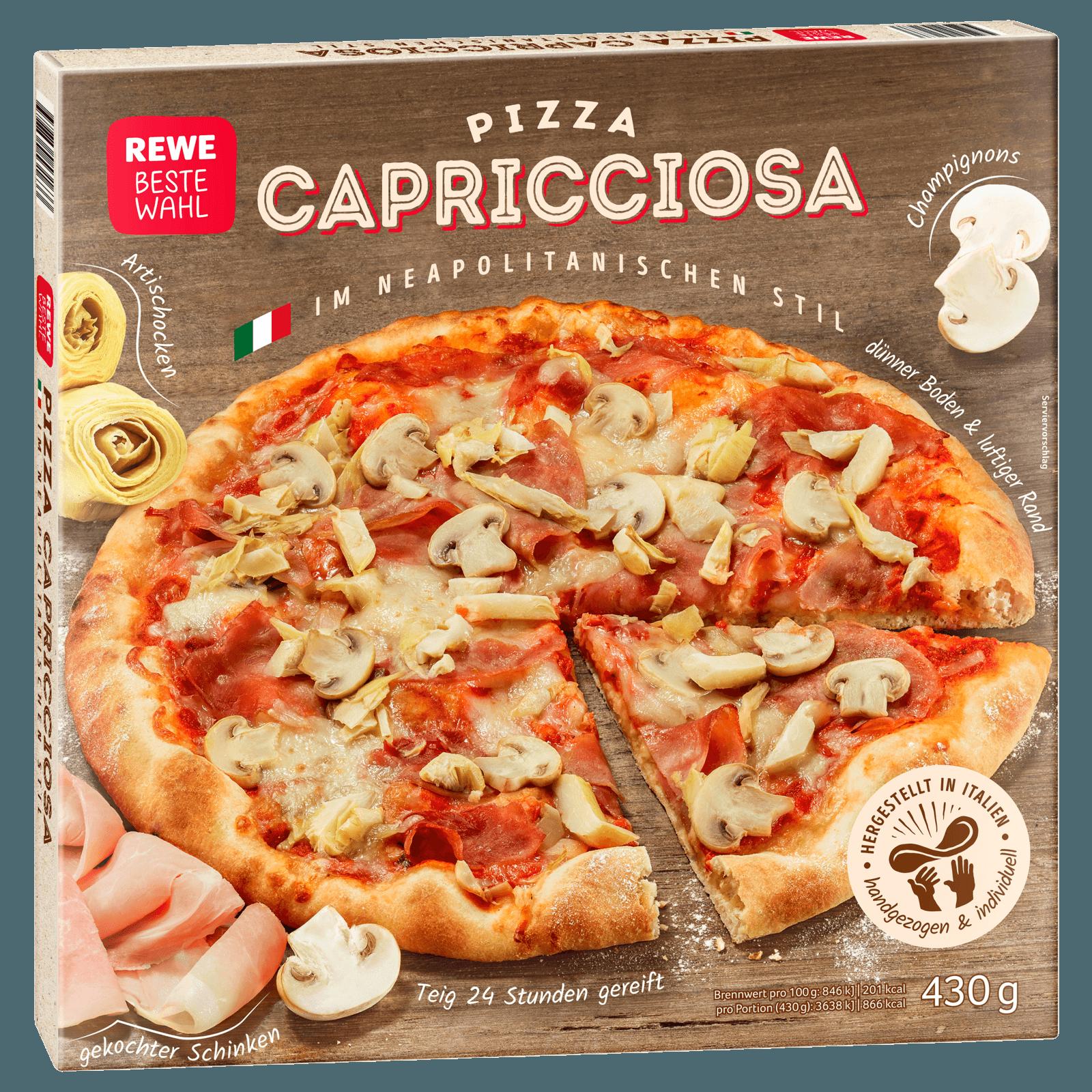 REWE Beste Wahl Pizza Napoli Capricciosa 430g