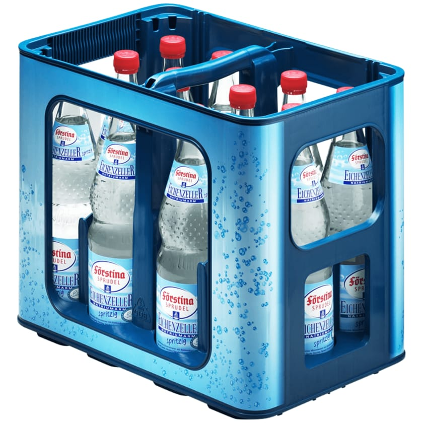 Förstina Sprudel Mineralwasser Spritzig natriumarm 12x0,7l