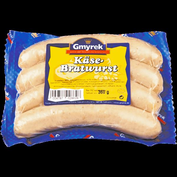 Gmyrek Käsebratwurst 360g, 4 Stück