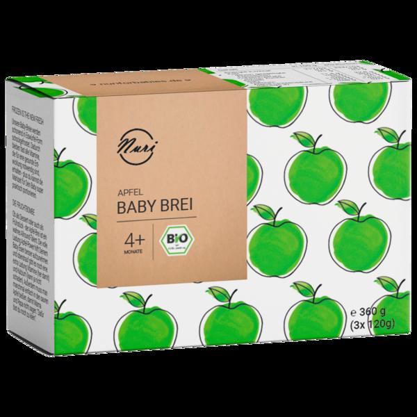 Nuri Bio Baby Brei Apfel 3x120g