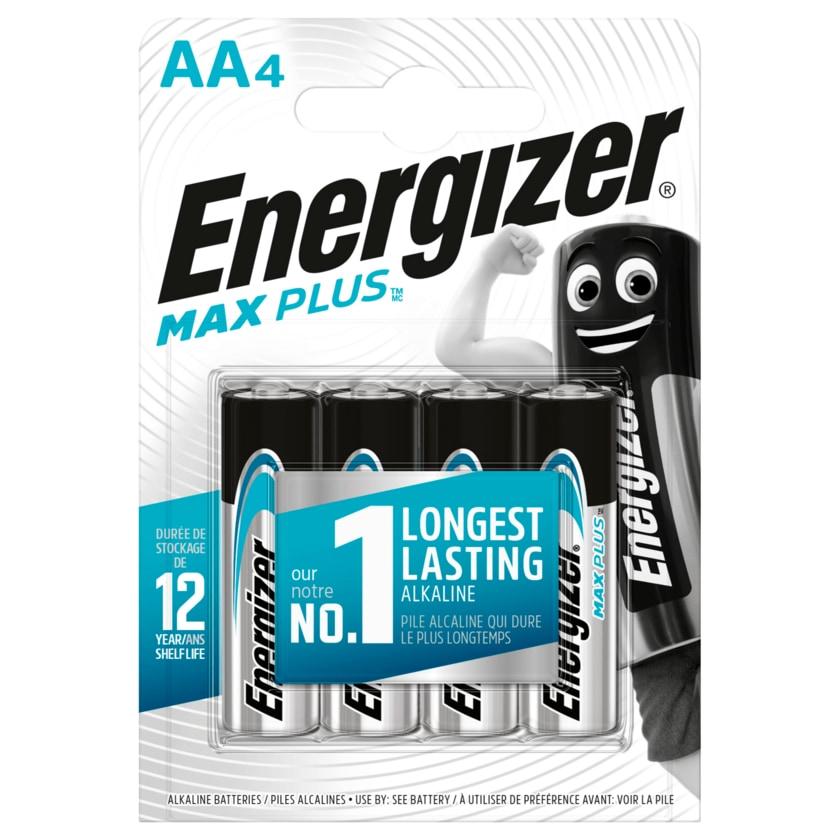 Energizer Max Plus Mignon-Batterien AA 4 Stück