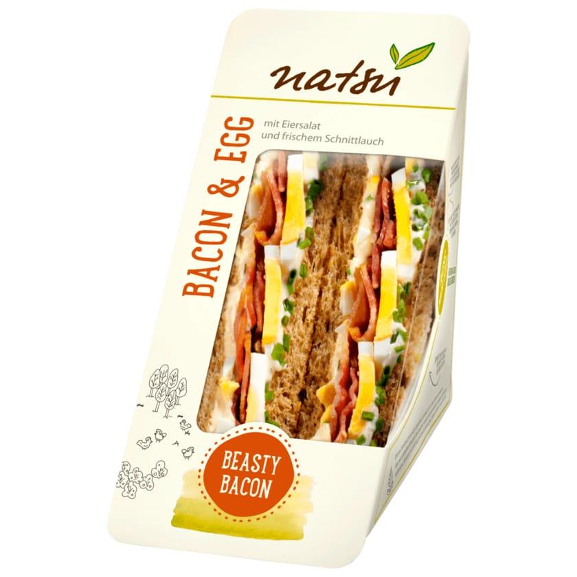 Natsu Sandwich Bacon & Egg 160g