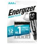 Energizer Max Plus Micro-Batterien AAA 4 Stück