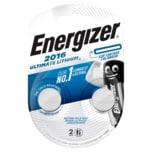 Energizer Knopfzellen Ultimate Lithium CR2016 2 Stück