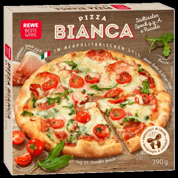 REWE Beste Wahl Pizza Bianca Speck 390g