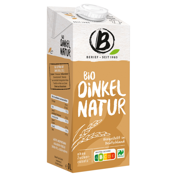 Berief Bio Dinkel Drink Natur 1l
