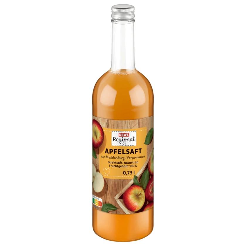 REWE Regional Apfelsaft Naturtrüb 0,75l