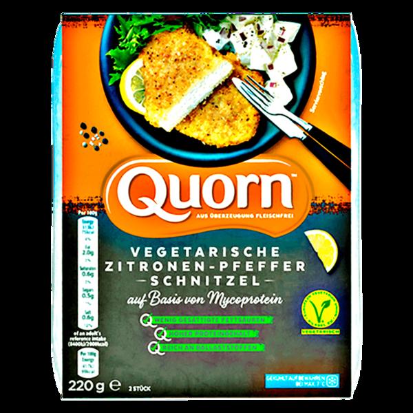 Quorn vegetarisches Zitronen-Pfeffer Schnitzel 220g