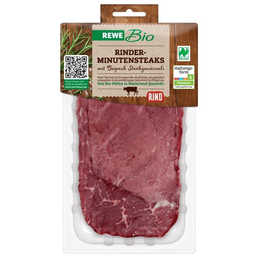 REWE Bio Rinder-Minutensteaks 200g