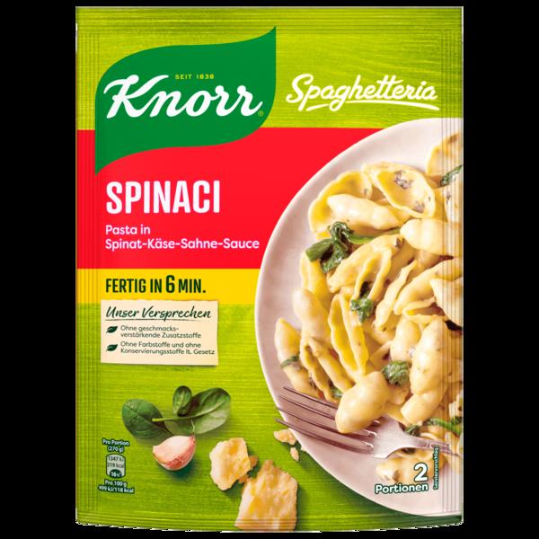 Knorr Spaghetteria Spinaci Nudel-Fertiggericht 160g