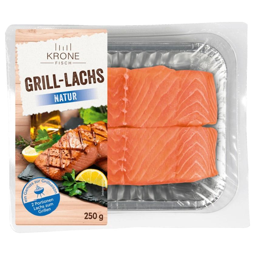 Krone Grill-Lachs natur 250g