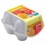 Münsterländer Eier aus Bodenhaltung 4 Stück
