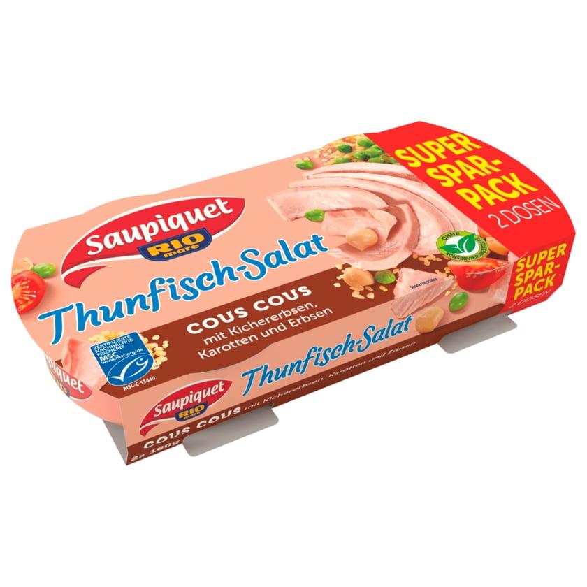 Saupiquet MSC Thunfisch-Salat Cous Cous 2x160g