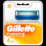 Gillette Klingen Fusion Start 4 Stück