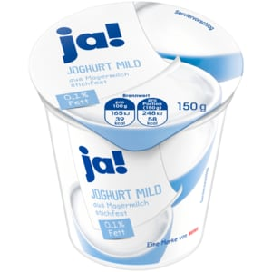 ja! Joghurt mild 0,1% 150g
