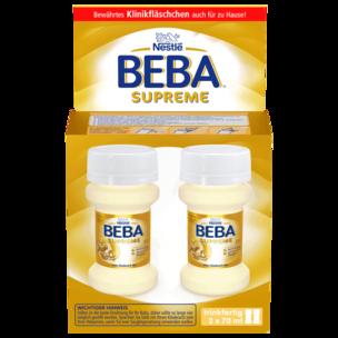 Nestle Beba Supreme trinkfertig von Geburt an 2x70ml