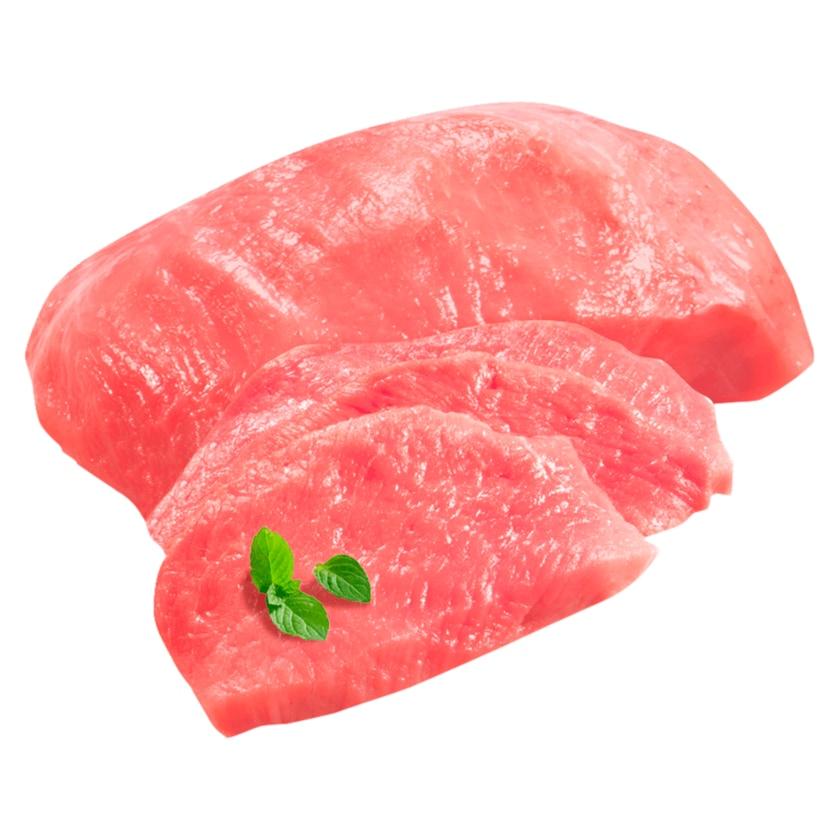 Regional Schweineschnitzelfleisch Keule
