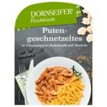 Dornseifer Putengeschnetzeltes in Champignon- Rahmsoße mit Nudeln 380g