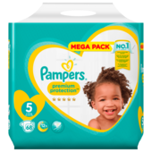Pampers Premium Protection Windeln Gr.5 Junior 11-16kg Mega Pack 68 Stück