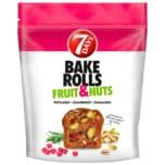 7 Days Bake Rolls Fruit & Nuts Pistazien Cranberry Rosmarin 80g
