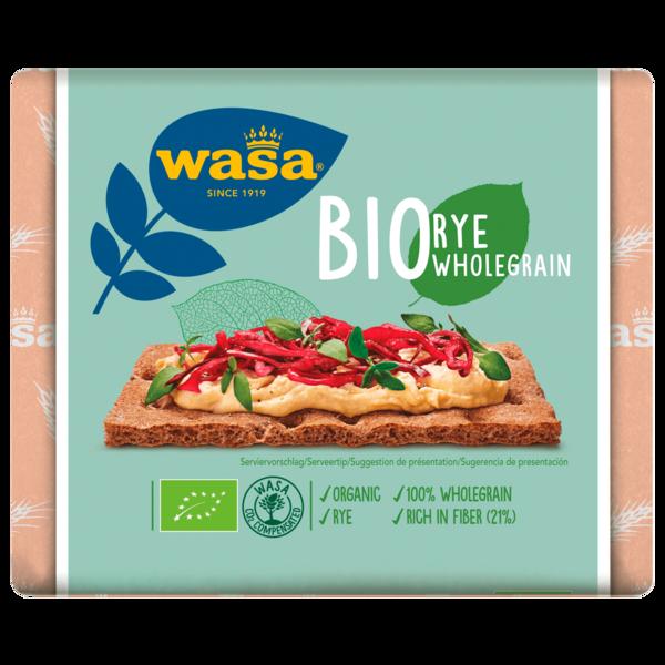 Wasa Bio Roggen Vollkorn 180g