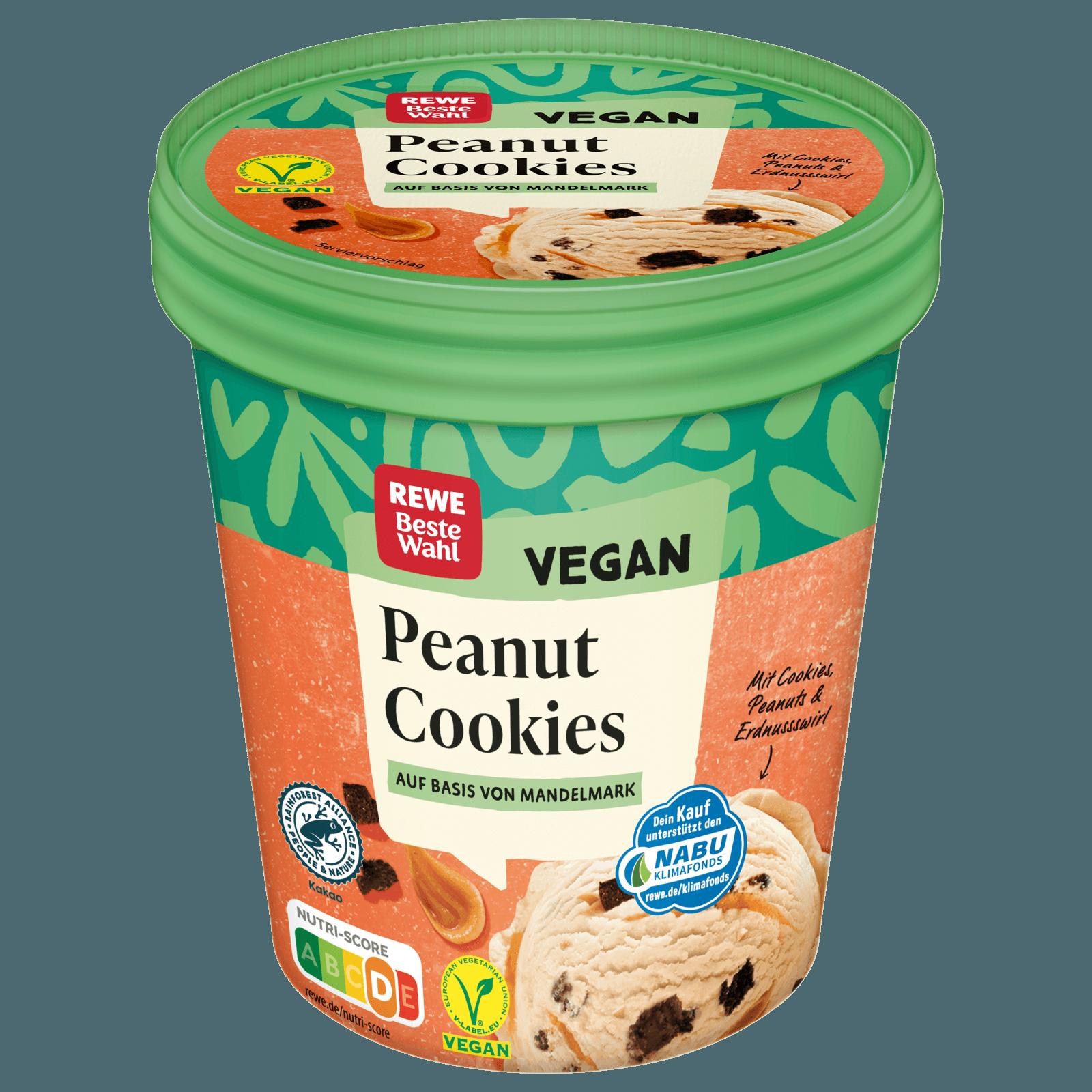 REWE Beste Wahl Peanut Cookie Eis vegan 20ml bei REWE online ...