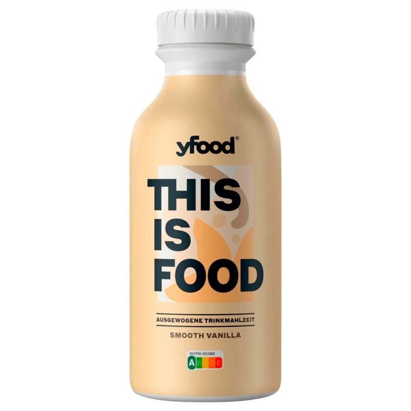 YFood Trinkmahlzeit Smooth Vanilla 500ml