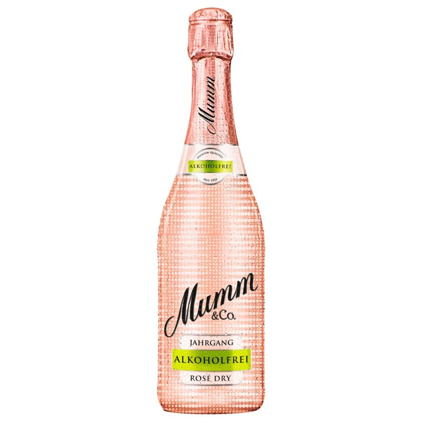 Mumm & Co. Rosé Dry Alkoholfrei Jahrgang 0,75l