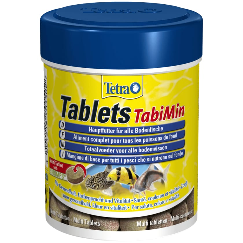 Tetra Tablets TabiMin 250 Stück