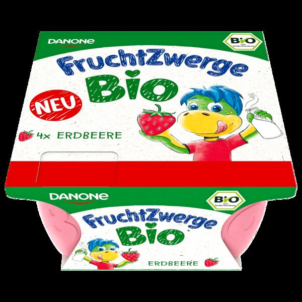 Danone Fruchtzwerge Bio Erdbeere 4x50g