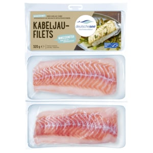 Deutsche See Fischmanufaktur Kabeljau-Filets 320g
