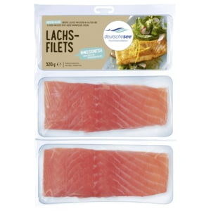 Deutsche See Fischmanufaktur Lachs-Filets 320g