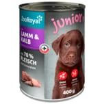 ZooRoyal Junior Lamm & Kalb 400g