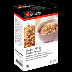 Transgourmet Quality Bircher-Müsli 2kg