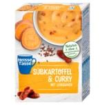 Erasco Heisse Tasse Süßkartoffel Curry 3x150ml