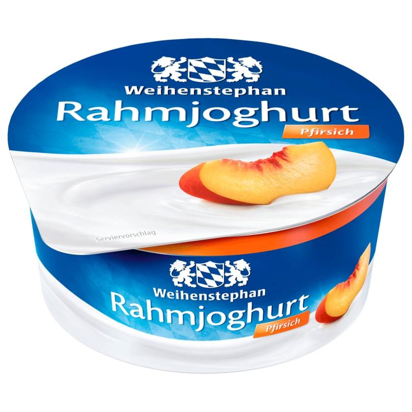 Weihenstephan Rahmjoghurt Pfirsich 150g